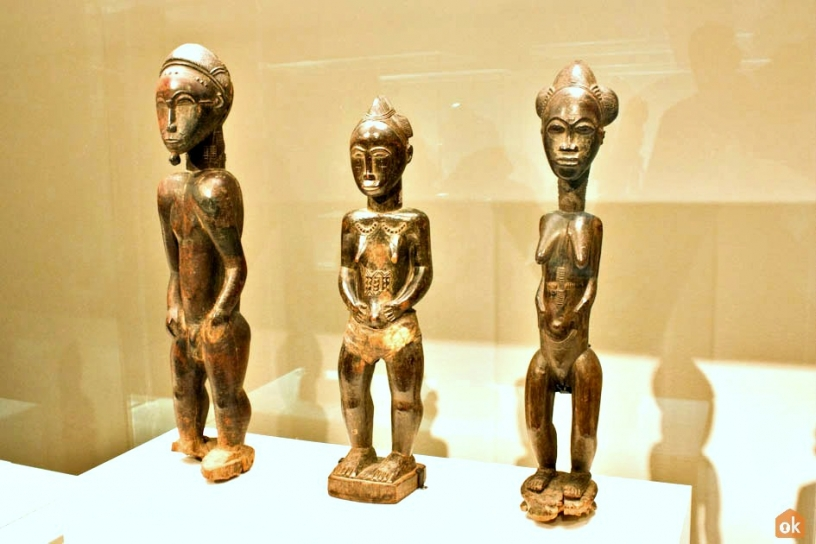 African collection at the Barcelona World Museum