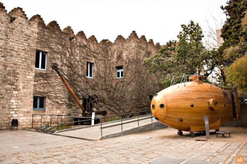 Maritime Museum exterior Barcelona
