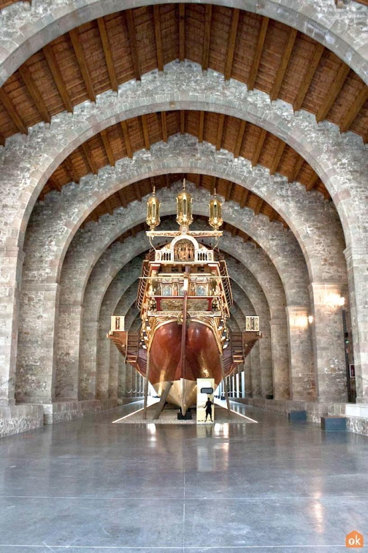 königliche Galeere Barcelona