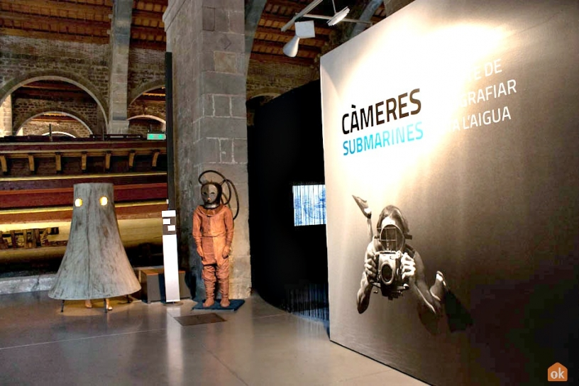 Underwater photography exhibition at the Barcelona Maritime Museum