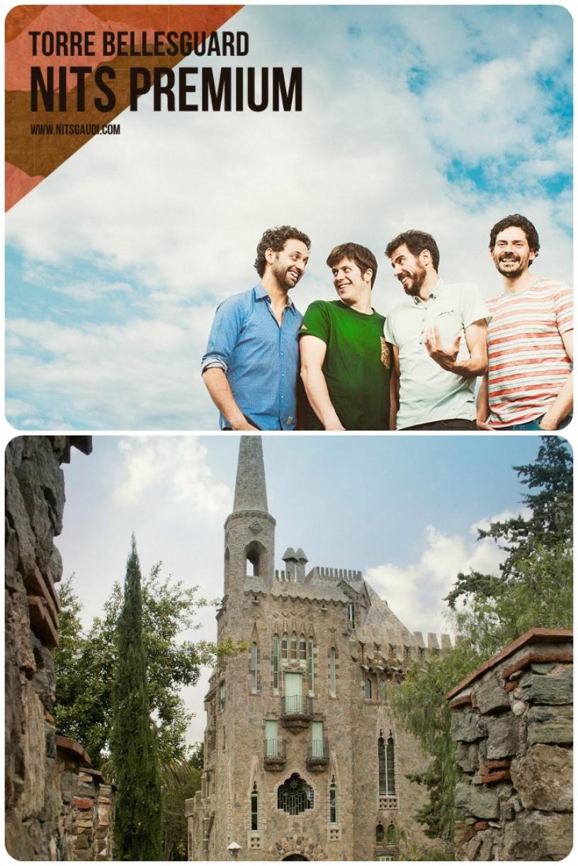 Torre Bellesguard Barcelone