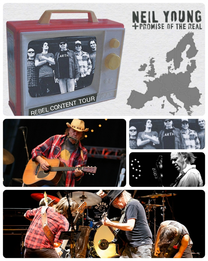 Neil Young + Promise of the Real en el Rebel Content Tour 2016