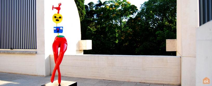 Noia Evadint-se, Joan Miró