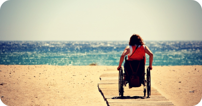 Plages accesibles pour chaise roulante