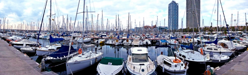 Vila Olimpica harbour