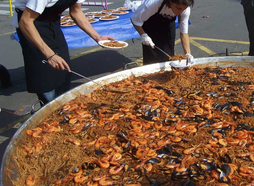 Aspect of community paella