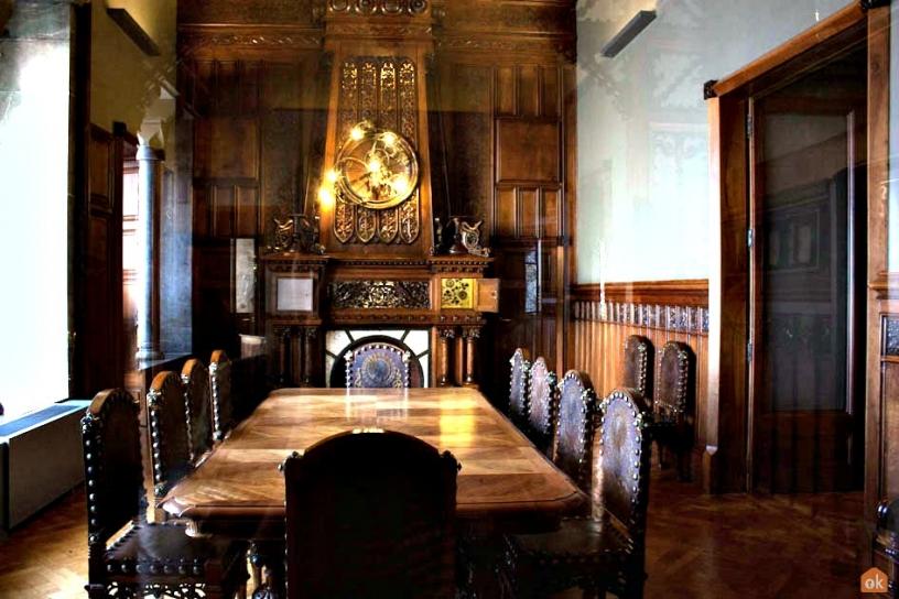 Lunchrummet Palau Güell Barcelona