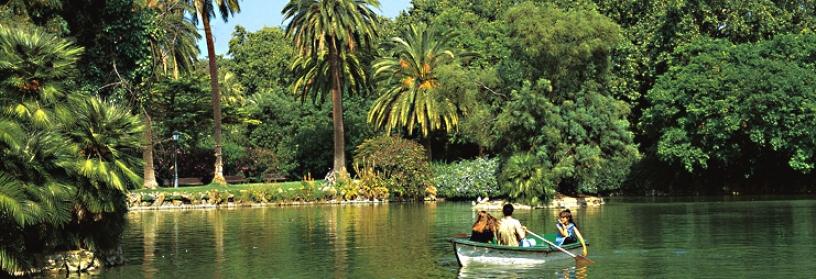 ciutadella parque barcelona aree verdi natura