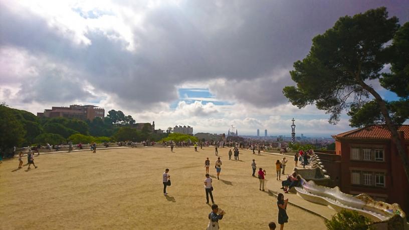 La Plaza de la Naturaleza en el Park Güell