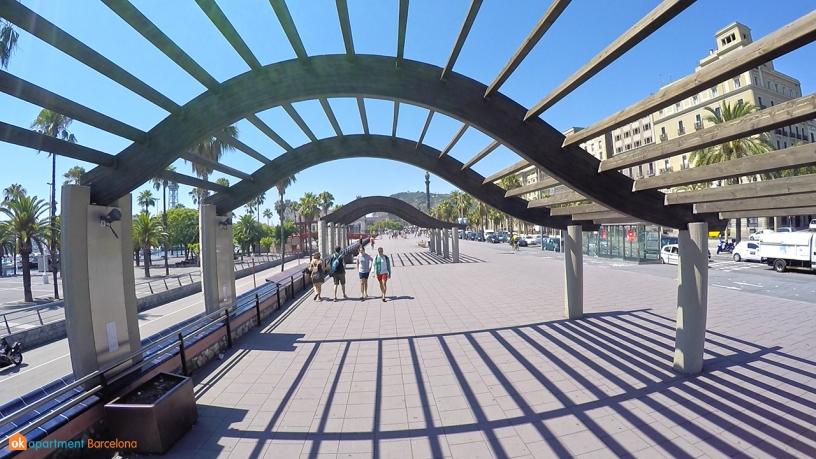 Passeig the Colon Barceloneta