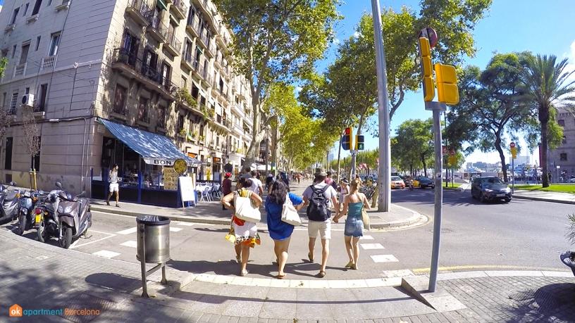 Passeig de Joan de Borbo Barceloneta