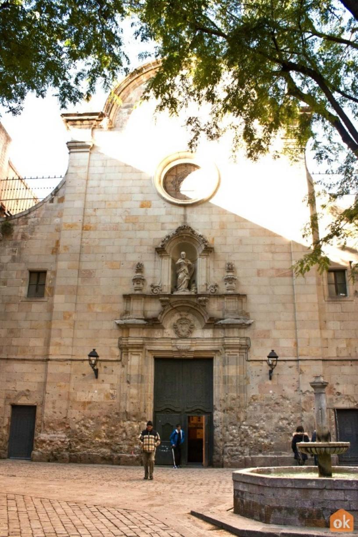 Площадь Sant Felipe Neri, Barcelona