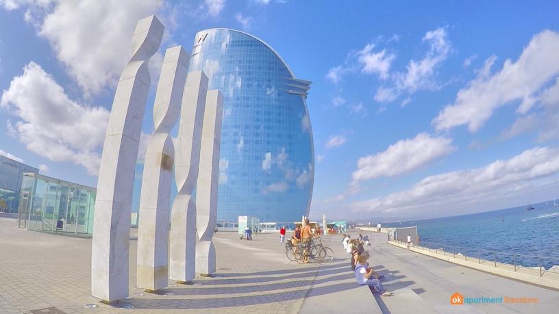 Plaça Rosa dels Vents Barceloneta