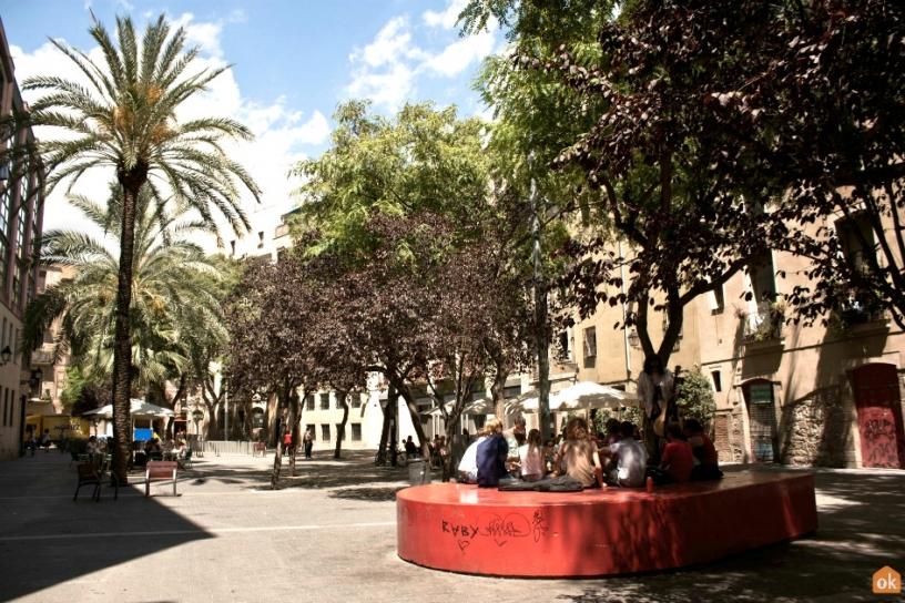 Площадь Pons i Clerch, Barcelona