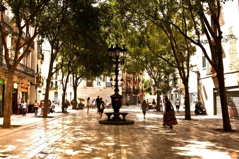 Площадь Sant Agustí Vell, Barcelona