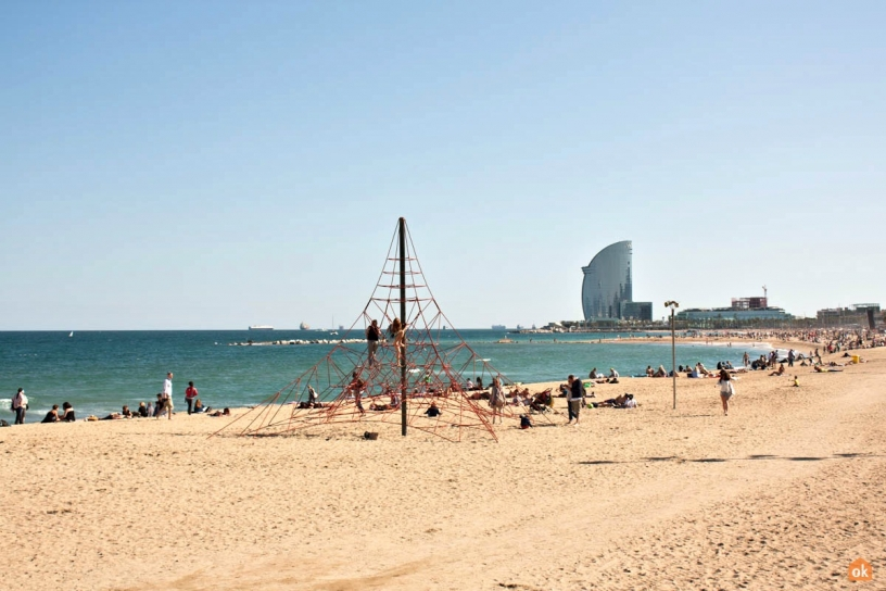 Playa  Barceloneta 3