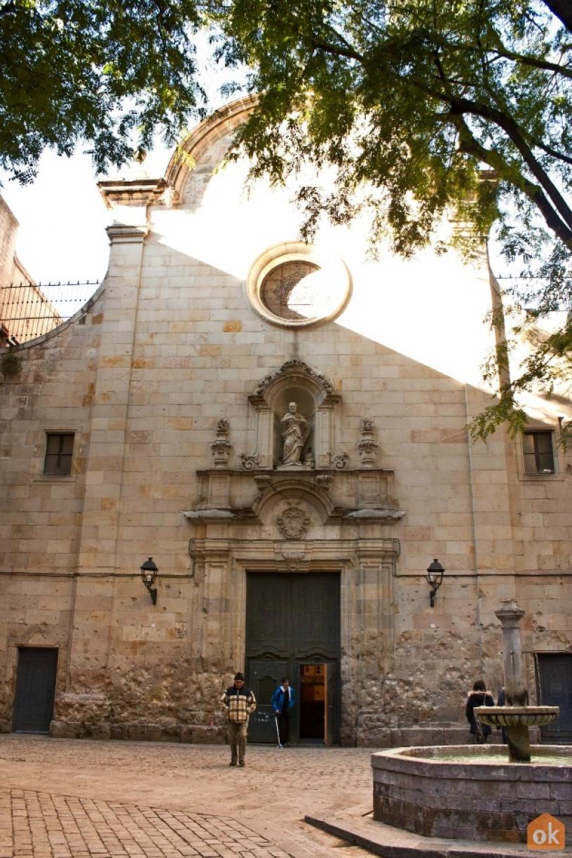 Kirche Felipe Neri Barcelona