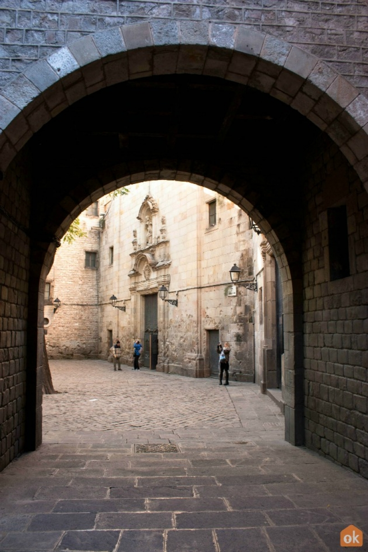 Plaza de San Felipe Neri Barcellona