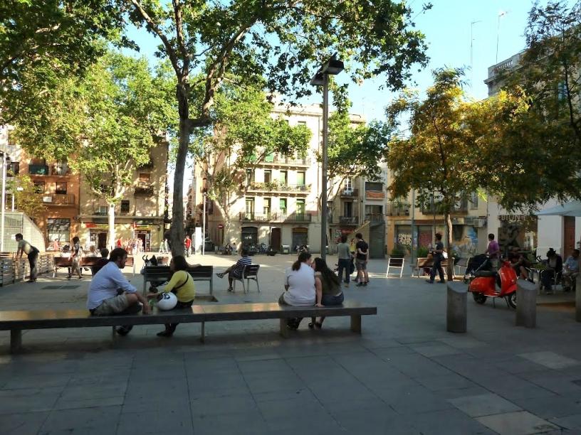 Площадь Diamant Барселона
