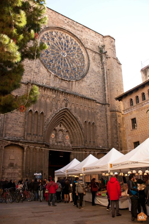 Plaza del Pi Barcellona