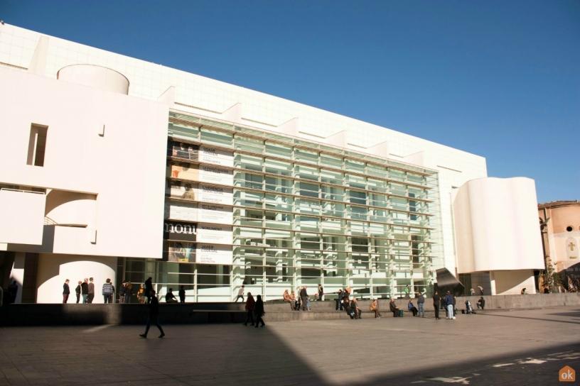 Plaza dels Angels Barcelona