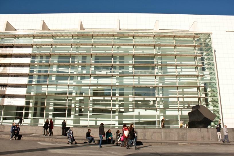 Plaza dels Angels Barcellona