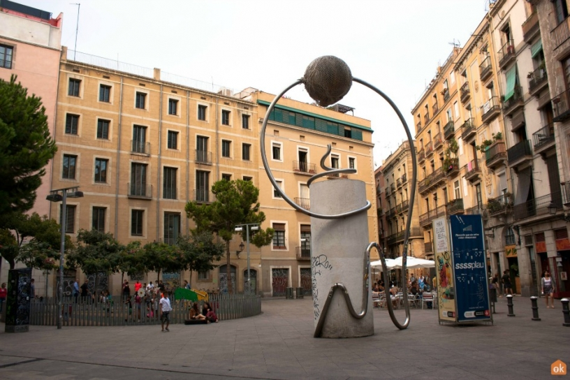 Plaza George Orwell, Barcellona