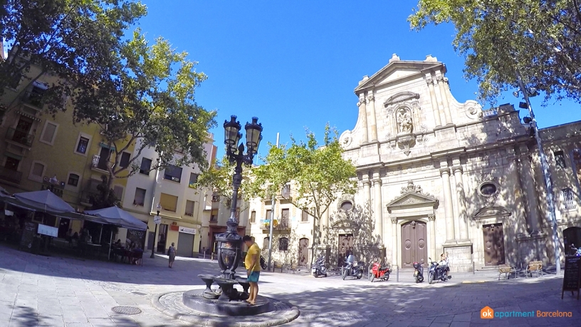 Barceloneta square