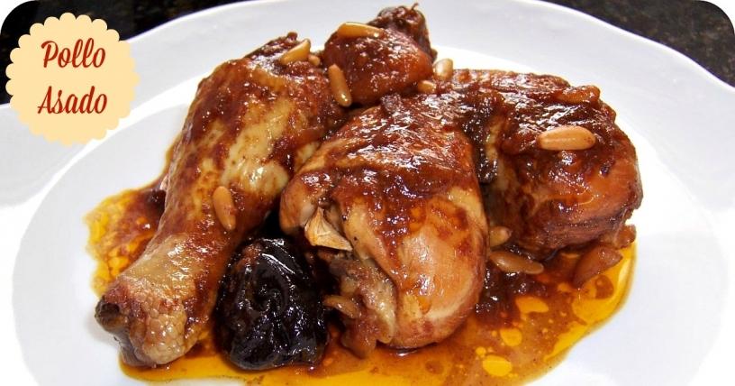 Pollo asado a la catalana