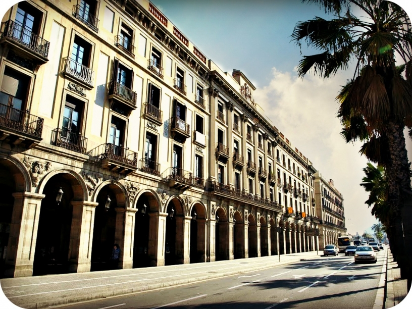 Porxos d'en Xifré, casa Picasso en Barcelona