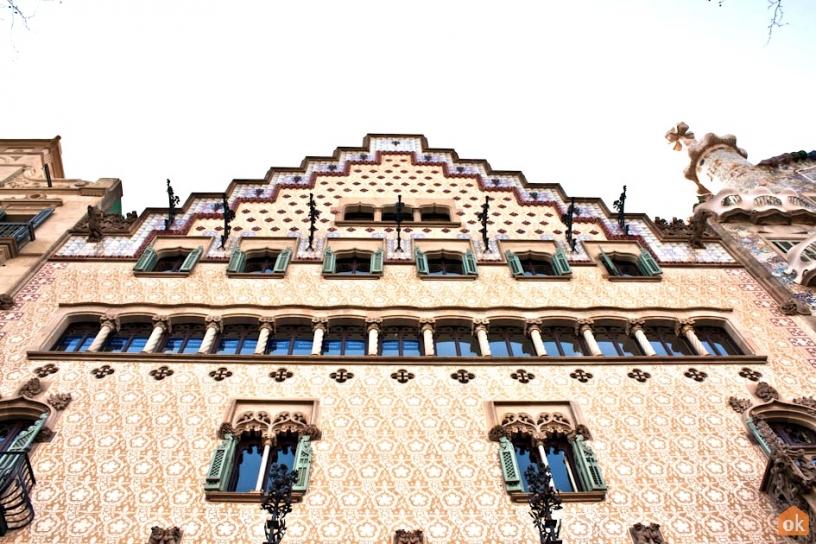 Façade Casa Amatller Barcelone