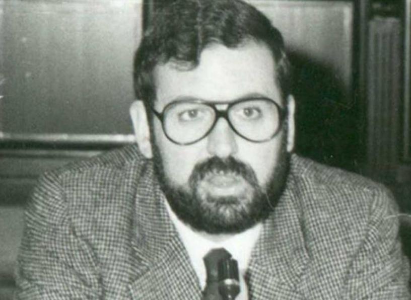 Młody Mariano Rajoy