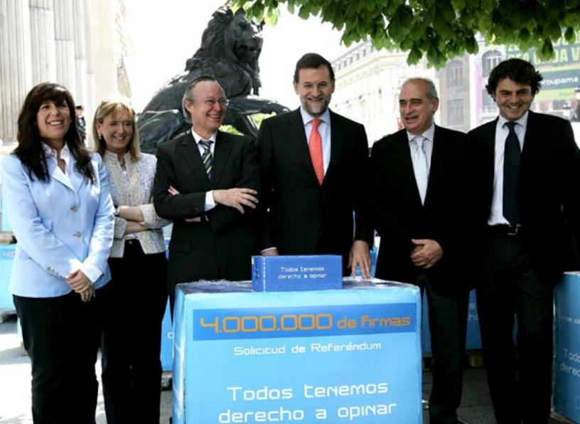 El Gobierno del PP contra el Estatut de Cataluña