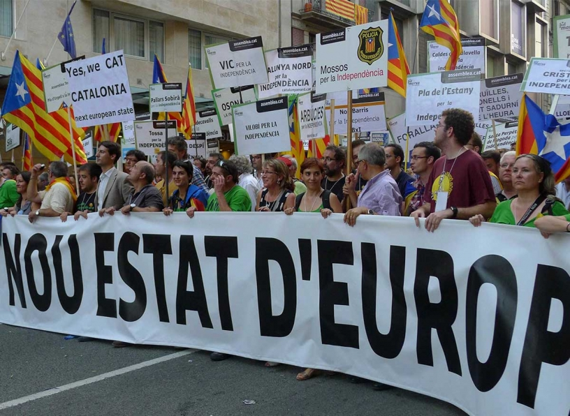 Katalonia,  Nowe Państwo w Europie
