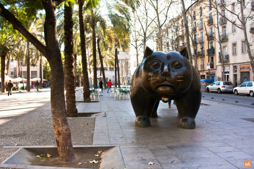 The Cat Botero Barcellona