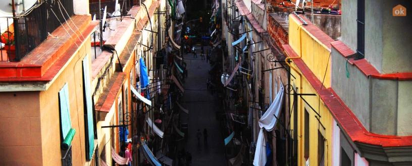 Raval Viertel in Barcelona