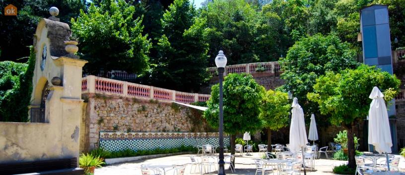 Ресторан Font del Gat на горе Монжуик
