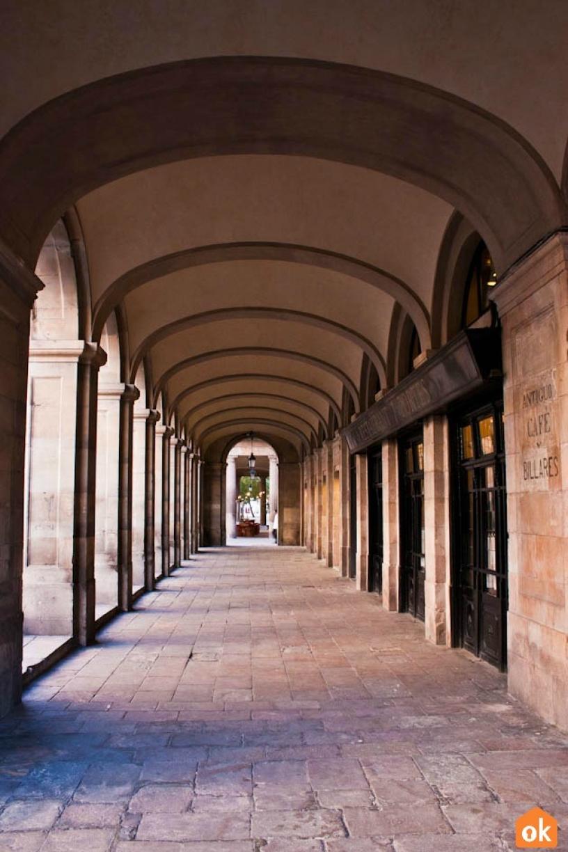 Porxos d'en Xifré porticato Barcellona