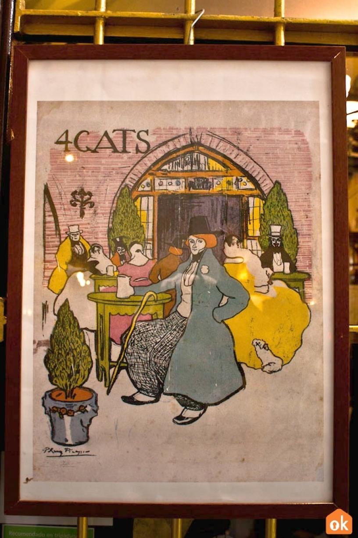 Restauracja Els Quatre Gats Barcelona