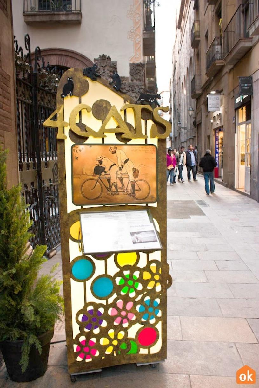 Restaurang Els Quatre Gats Barcelona