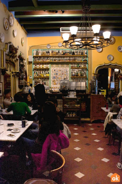 Wnętrza Els Quatre Gats Barcelona