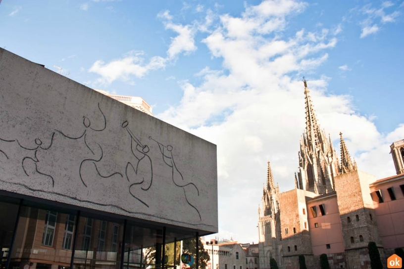 Декорации Пикассо на Площади Нова