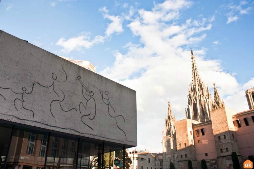Fregio Picasso Plaza Nova Barcellona