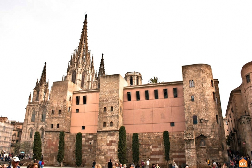 Plaza Nova Barcelone