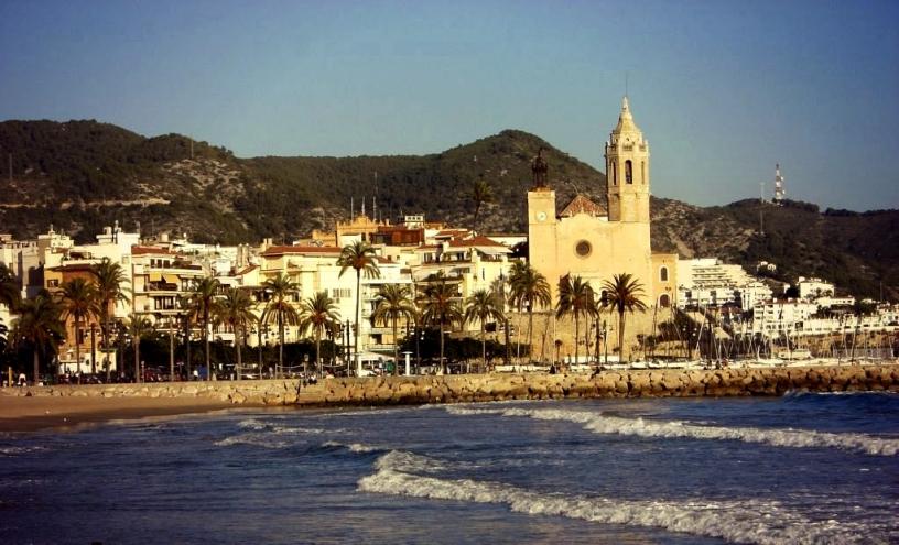 Le charme de la ville de Sitges