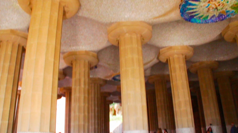 La Sala delle 100 colonne del Park Güell