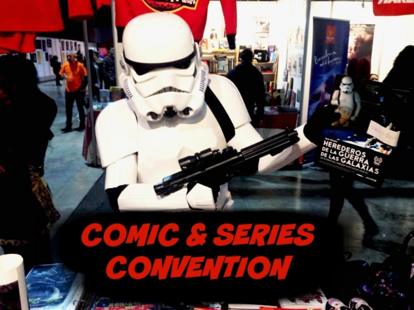 Cinema and Series convention Barcelona