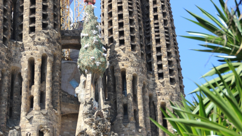 Sagrada's Sanctus, Barcelona