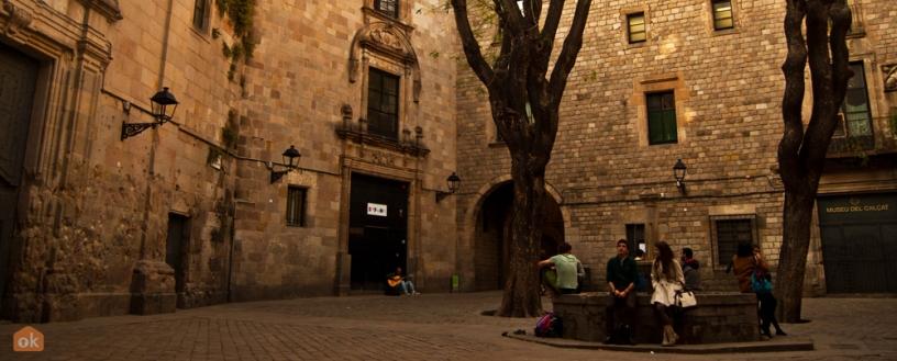 Plaza Sant Felipe Neri, barrio Gótico Barcelona