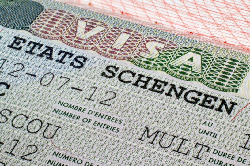 visados para viajar a españa